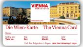 Vienna Card – excellent when sightseeing in Vienna