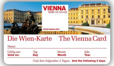 Vienna Card – excellent when sightseeing in Vienna