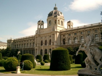The Museum of Fine Arts in Vienna